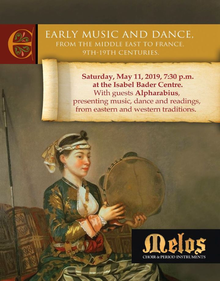 March 29 in Kingston - Angelina Thorne with the Alpharabius Ensemble